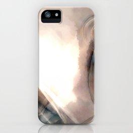 Water Rust Pattern 001 iPhone Case