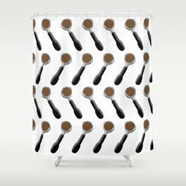 I'd Tamp That! Shower Curtain