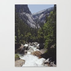 yosemite vernal fall Canvas Print