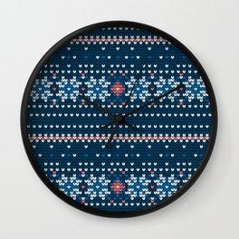 Pattern in Grandma Style #60 Wall Clock