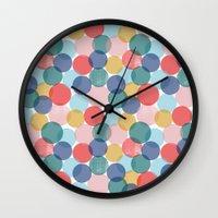 bubble Wall Clocks featuring Bubble by Emmyrolland