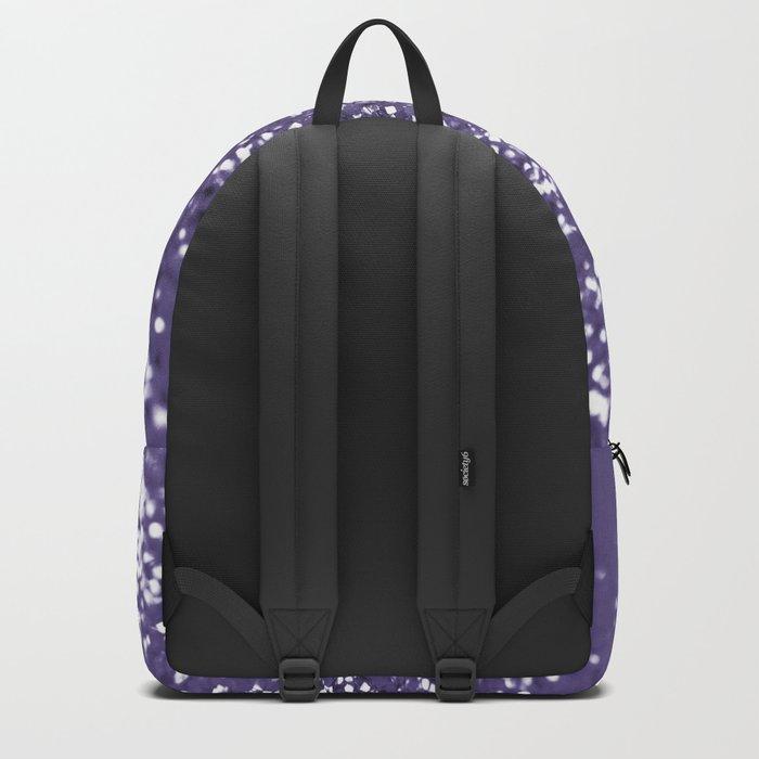 Sparkling ULTRA VIOLET Lady Glitter #1 #shiny #decor #art #society6 Backpack