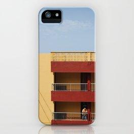Bajamar iPhone Case
