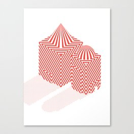 Patterned 5B Canvas Print