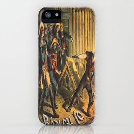 Vintage poster - Ranch 10 iPhone Case