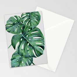 Monstera Stationery Cards
