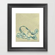 Octopus Framed Art Print
