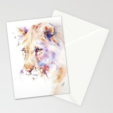 Patience . Lion Stationery Cards