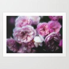 Wild Roses 1 Art Print