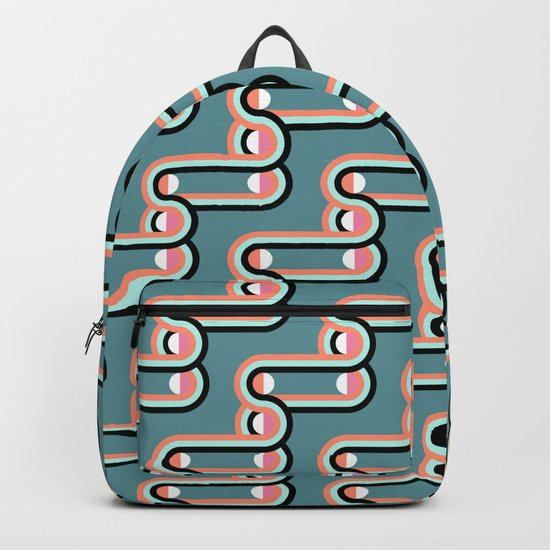 UNCHAINED PATTERN (abstract geometric) Backpack