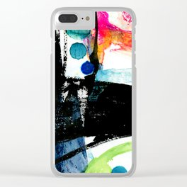Ecstasy Dream No. 8 by Kathy Morton Stanion Clear iPhone Case
