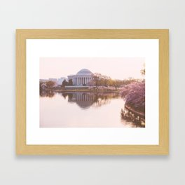 a softer side of washington, iii Framed Art Print