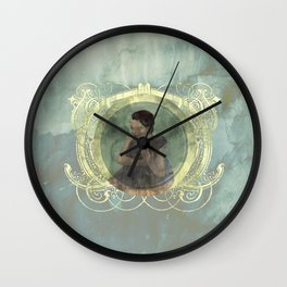 Si Gerong and Orah: SEBEI (TWINS) Wall Clock