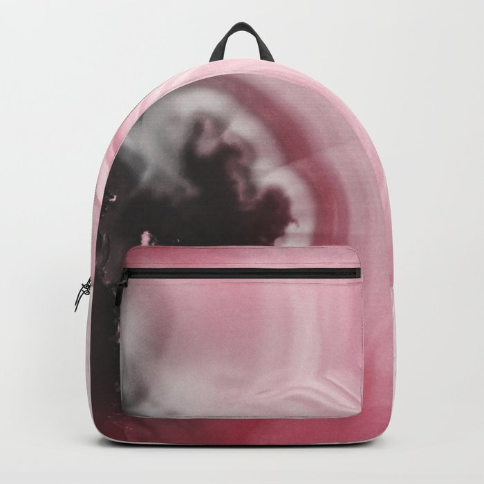 Romantic Pink Agate Backpack