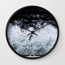 On the Ferry, Victoria, B.C. Wall Clock