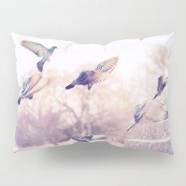 Birds in Flight Pillow Sham