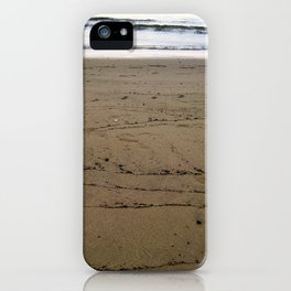 Traces of Waves iPhone Case