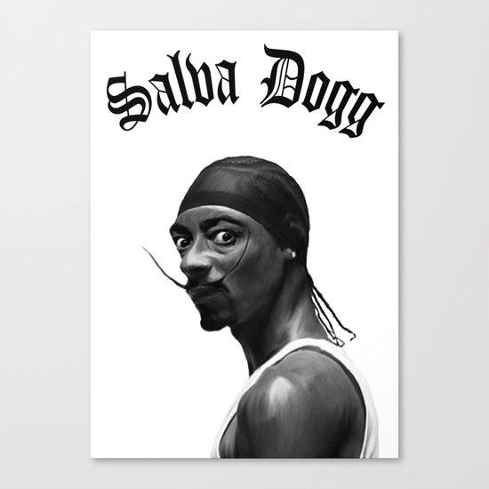 Salva Dogg Canvas Print
