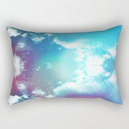 Message to Universe Rectangular Pillow