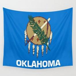flag of oklahoma-Oklahoma,south,Oklahoman,Okie, usa,america,Tulsa,Norman,Broken Arrow Wall Tapestry