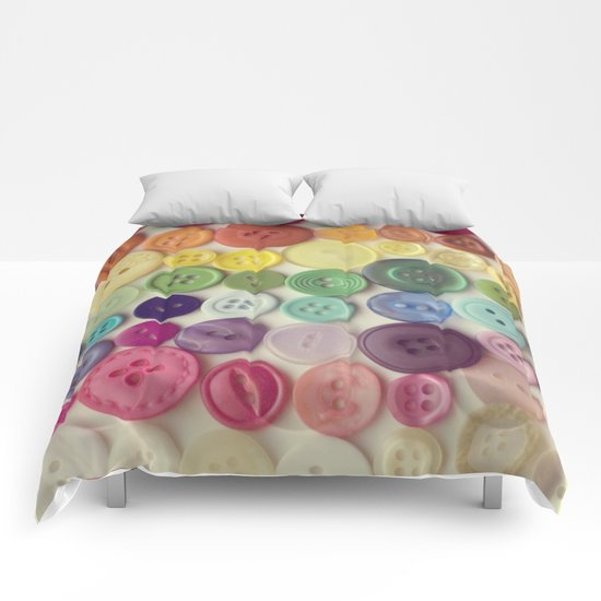 buttons Comforters