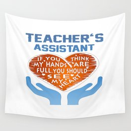 Teacher's Assistant Wall Tapestry