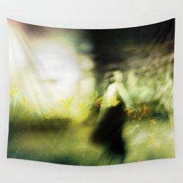 Dance in meadow Wall Tapestry