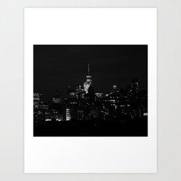 New York Skyline IV Art Print