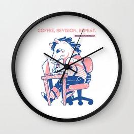 Work Like a Horse Wall Clock