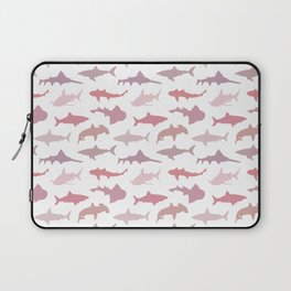 Pink Sharks Laptop Sleeve