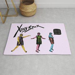 Poly Styrene of X-Ray Spex Rug