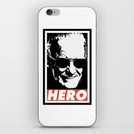 Hero iPhone Skin