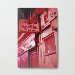 London - Jeff, Dalston Metal Print