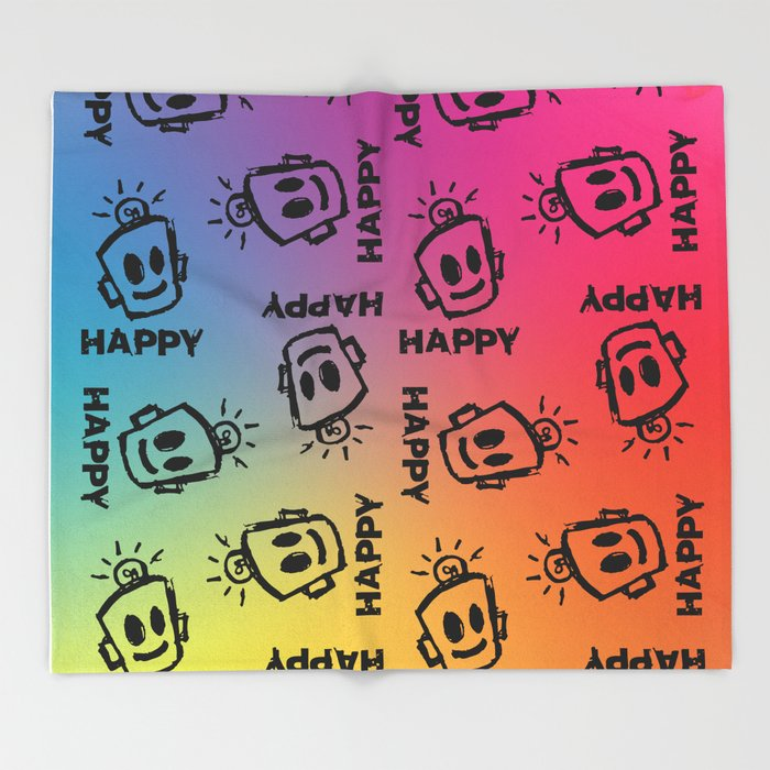 PRIDE Throw Blanket