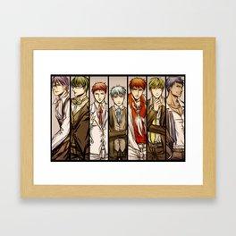 knb Framed Art Print