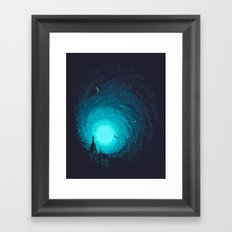 Calm Night To Fly Framed Art Print