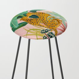 Cheetah Crush Counter Stool