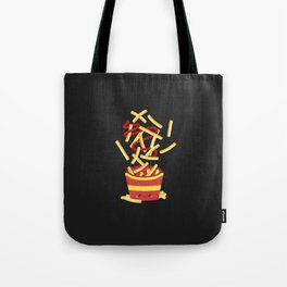 Extreme French Fry Making Tote Bag