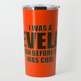 Cleveland Football Fan Travel Mug