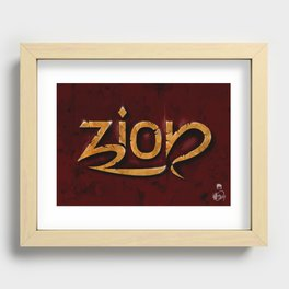 Zion Recessed Framed Print