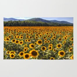 Sunflower Fields Of Dreams Rug