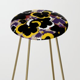 Pansy Love Counter Stool