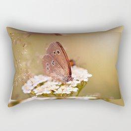 Ringlet brown butterfly Rectangular Pillow