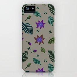 Tropics Print 2 iPhone Case