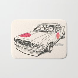 Crazy Car Art 0170 Bath Mat
