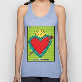 El Corazon Unisex Tank Top