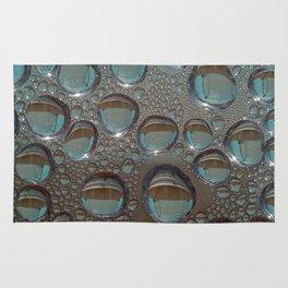 Drop of water condensation fractal Rug
