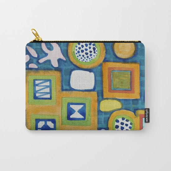 Cluster of Wall Objects Carry-All Pouch