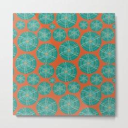 Sea Urchin Mod Metal Print