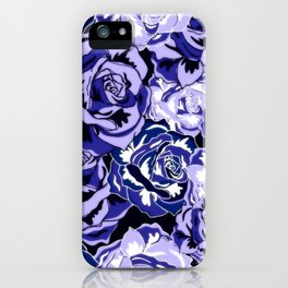 Beautiful Violet Roses iPhone Case